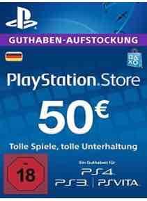 [G2A] PSN Card DE 50€ für 41,99€