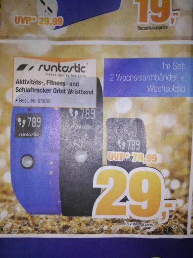 [Expert Bening offline] Runtastic Orbit für 29 € (Idealo ab €35,59)