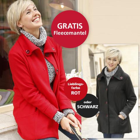 WITT WEIDEN Neukundengeschenk: Damen-Fleecemantel gratis (ab 25€ Bestellwert)