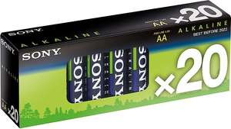 Sony Batterie 20er Multipack Alkaline, AA, LR6, 1,5 V bei OTTO.de für 10,94 inkl.Versand