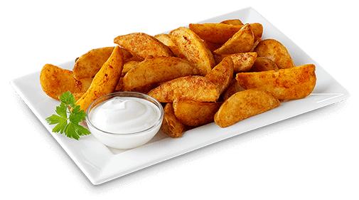 [Call a Pizza] Knusprige Kartoffelecken mit Dip nach Wahl