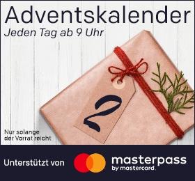 Rakuten Adventskalender: 30€Masterpass-Gutschein bei 80€ Mindestbestellwert - Beispiele im Deal