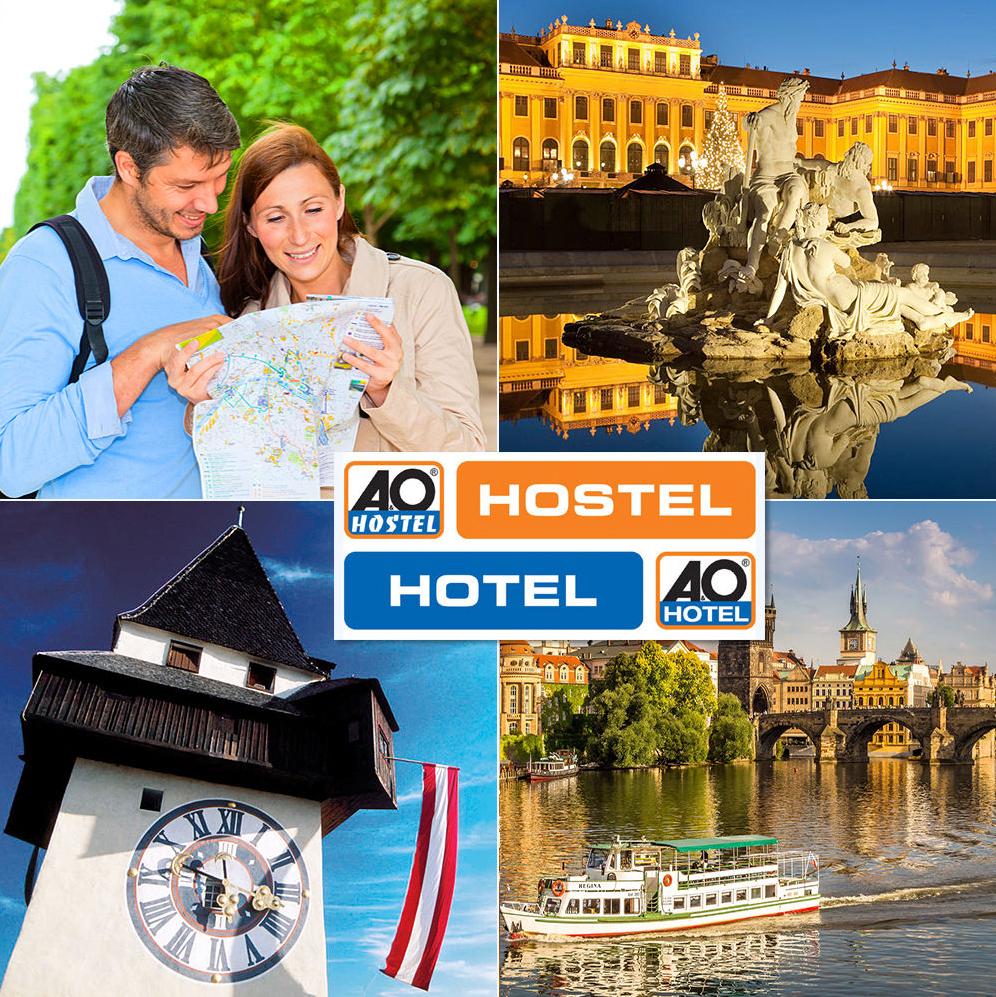 5 Tage A&O Hotelgutschein incl. Frühstück 169,99 € ( 85 €/Person ) für viele Städte
