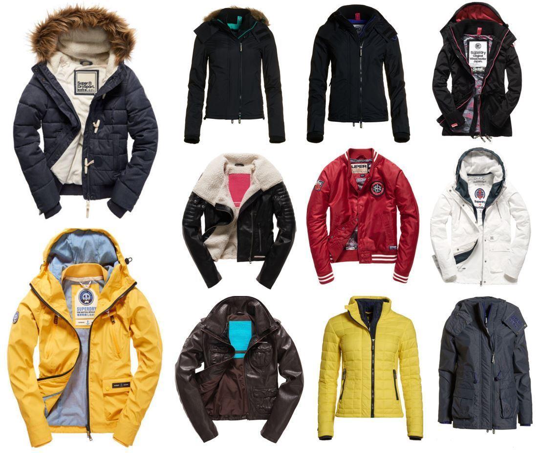Superdry Damen Winterjacken / Jacken viele versuch Modelle für 49,95€ @ebay WowDeal