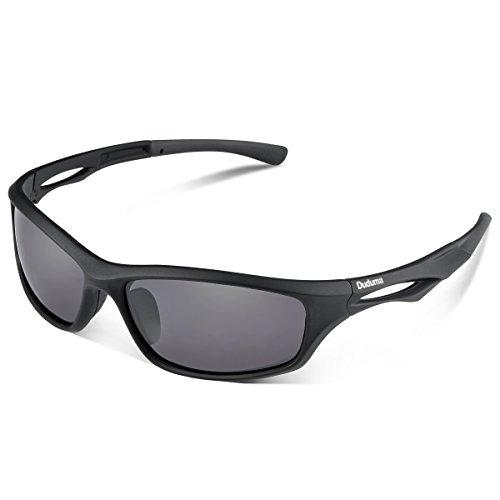 @Amazon Duduma Polarisierter Sport Herren und Damen Sonnenbrille für Ski Fahren Golf Laufen Radsport Tr90 und Tr62