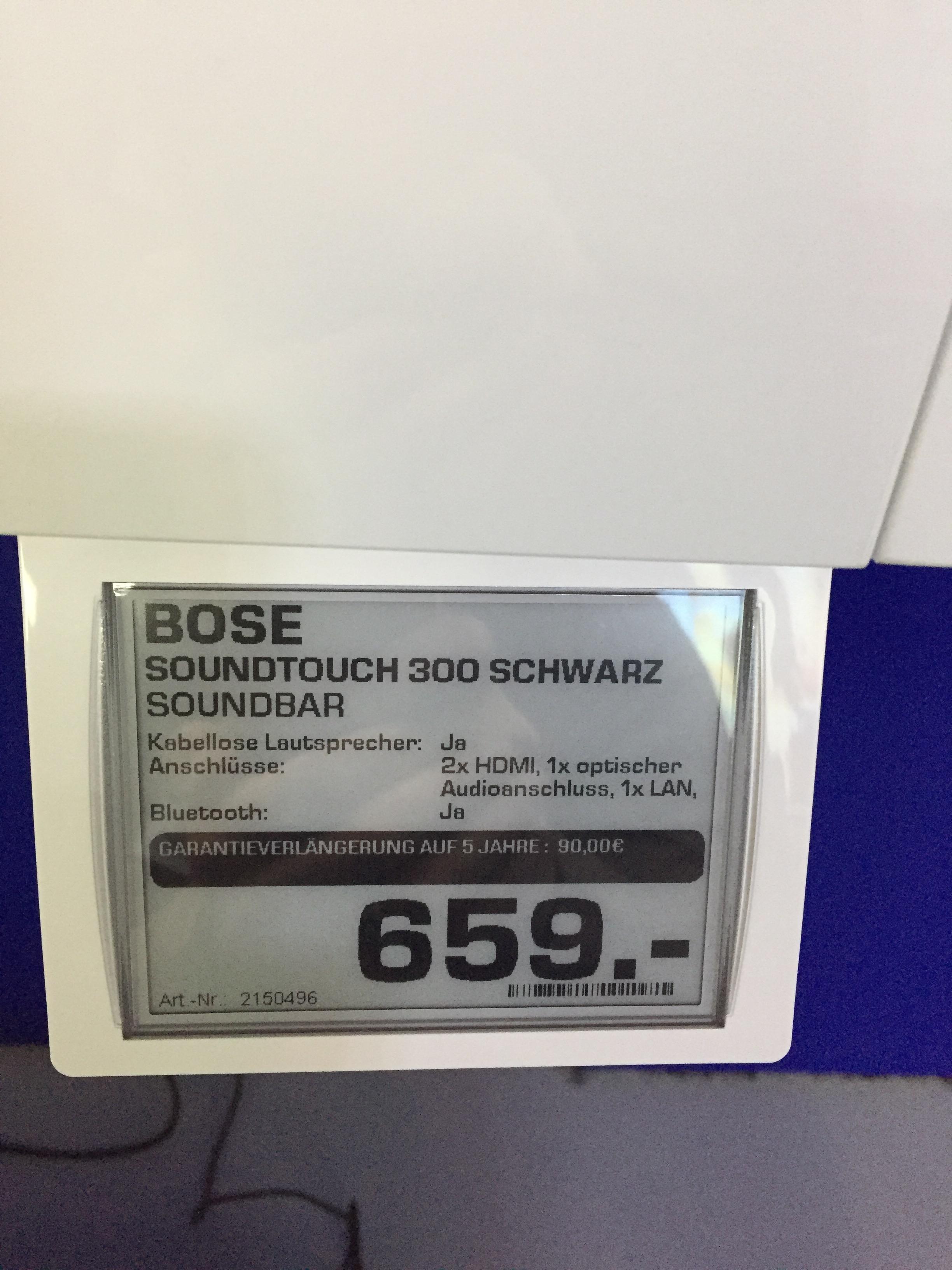 Saturn Gelsenkirchen Buer - Bose Soundtouch 300 OVP +++659€+++