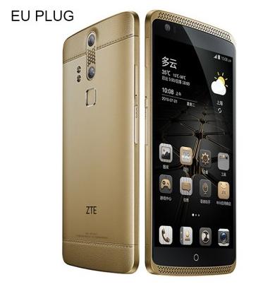 """ZTE Axon Mini: LTE + Dual Sim, 5,2"""" FHD AMOLED, Snapdragon 615, 3GB RAM, 32GB (erweiterbar), 13MP, Wlan ac, Fingerabdrucksensor, Iris-Scanner, 2800mAh, Metall Gehäuse für 126,79€ bei Gearbest"""