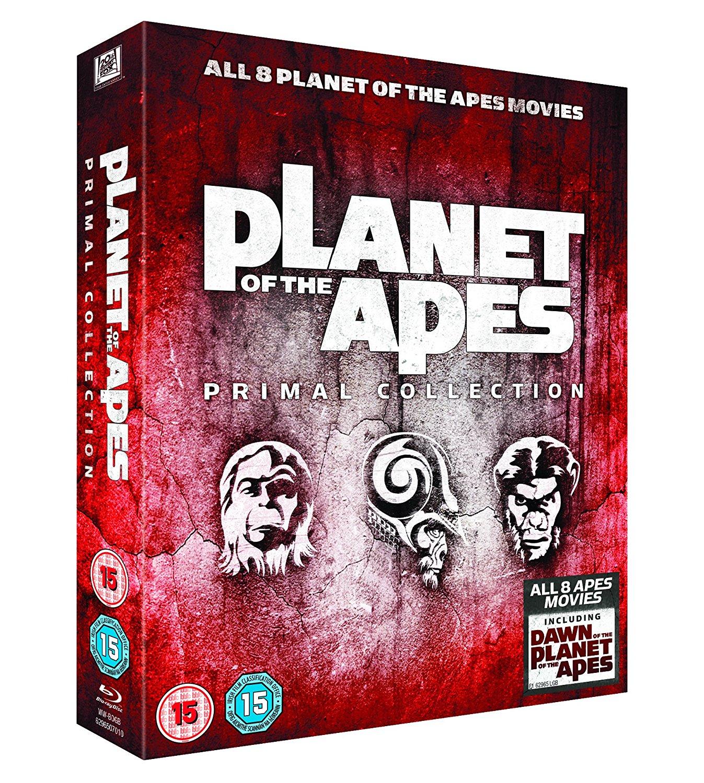 Planet der Affen: Primal Collection 1-8 (Blu-ray) für 11,99€ (Zavvi)