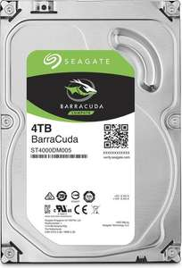 "Seagate BarraCuda 4TB 3,5"" (ST4000DM005) 97,55€ - 17% Ersparnis über Combi-Rabatte allyouneed"