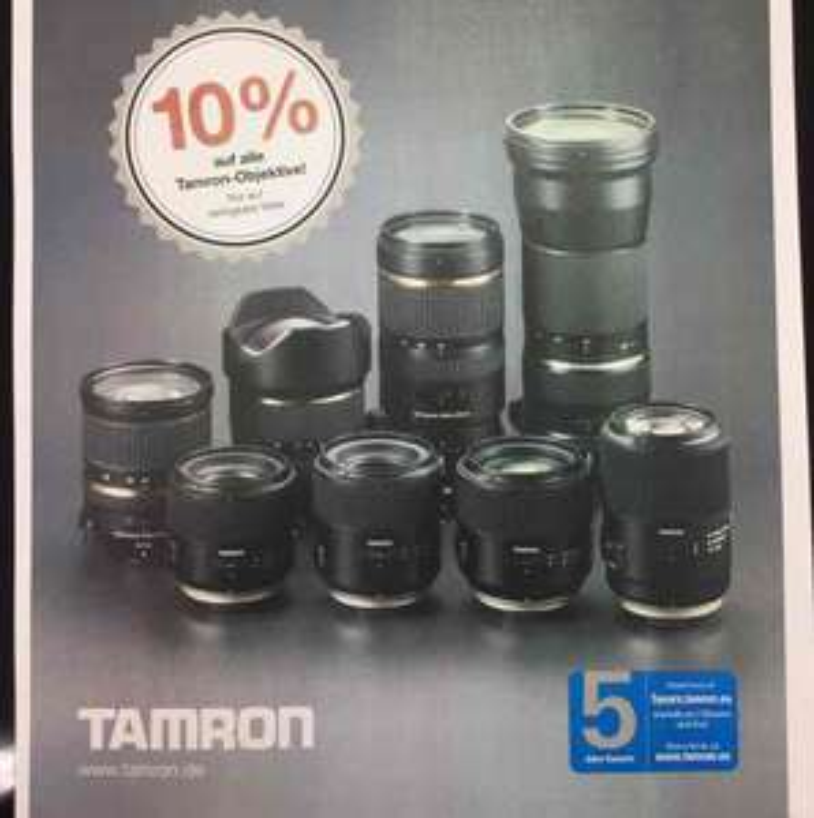 10% Aktion Tamron 03.12.16 - 04.12.16 Saturn Dortmund City