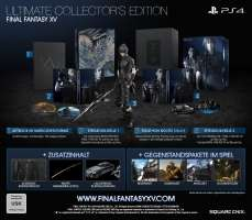 FINAL FANTASY XV Ultimate Collector's Edition [PS4] über Square Enix Store Lieferbar