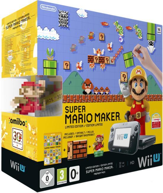 GameStop: Wii-U 32 GB inkl. Mario Maker für 229,--
