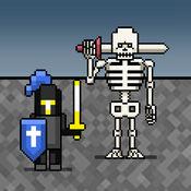 (iOS) Hau das Skelett: 8bitWar Necropolis / Multiplayer möglich / kostenlos statt 2,99 €