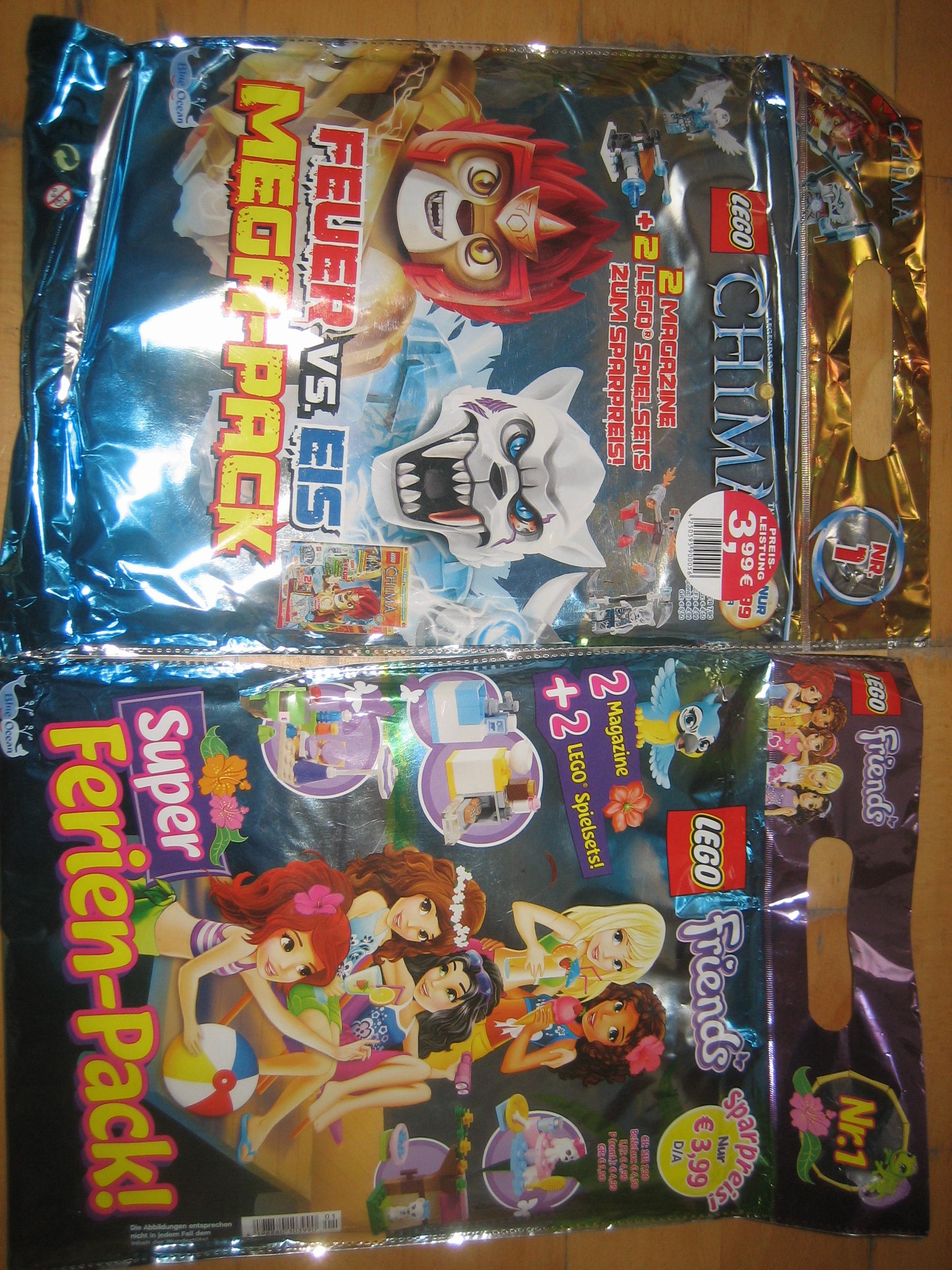 [lokal/ Bad Mergentheim] Lego Friends Mega-Pack/ Lego Chima Mega-Pack/ für 1 € (-75%)