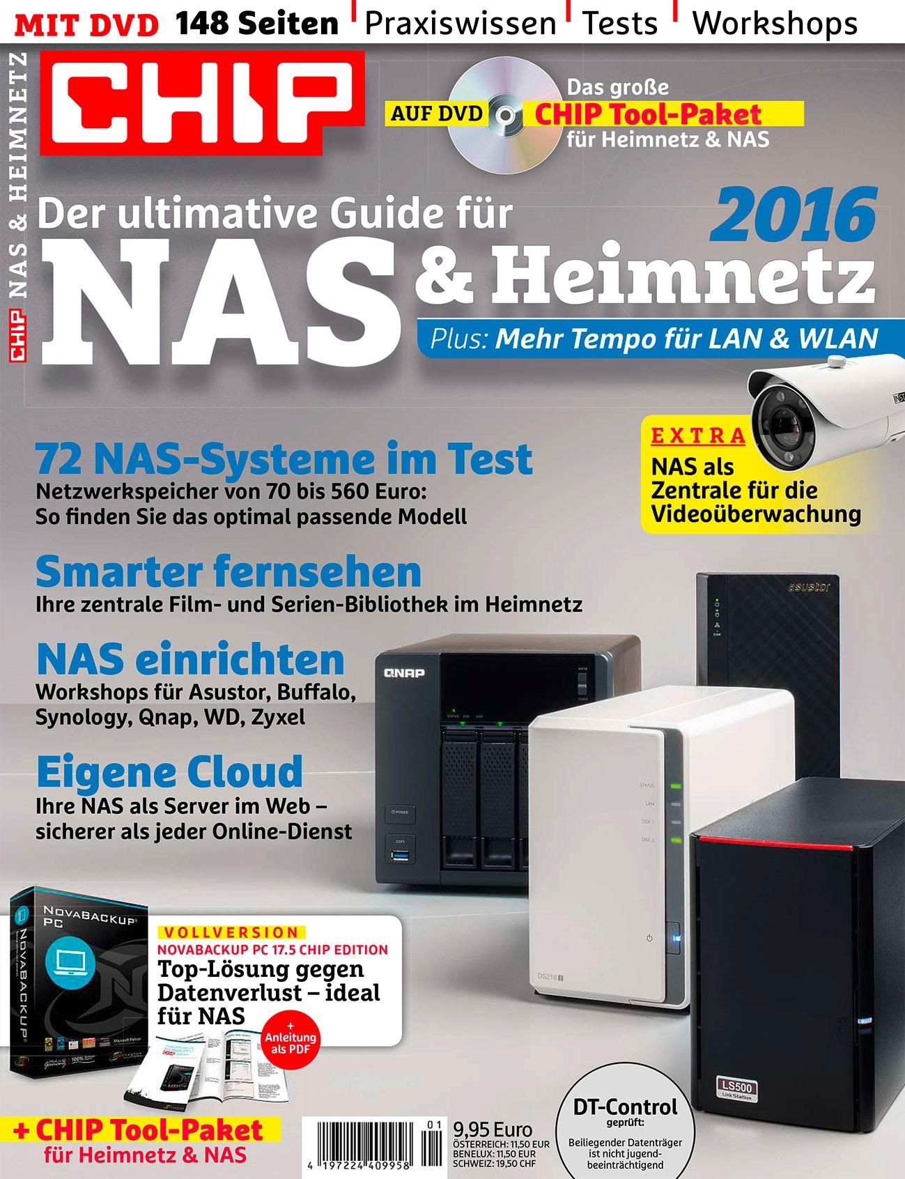 CHIP ePaper NAS & Heimnetz 2016 kostenlos [CHIP-Kiosk]