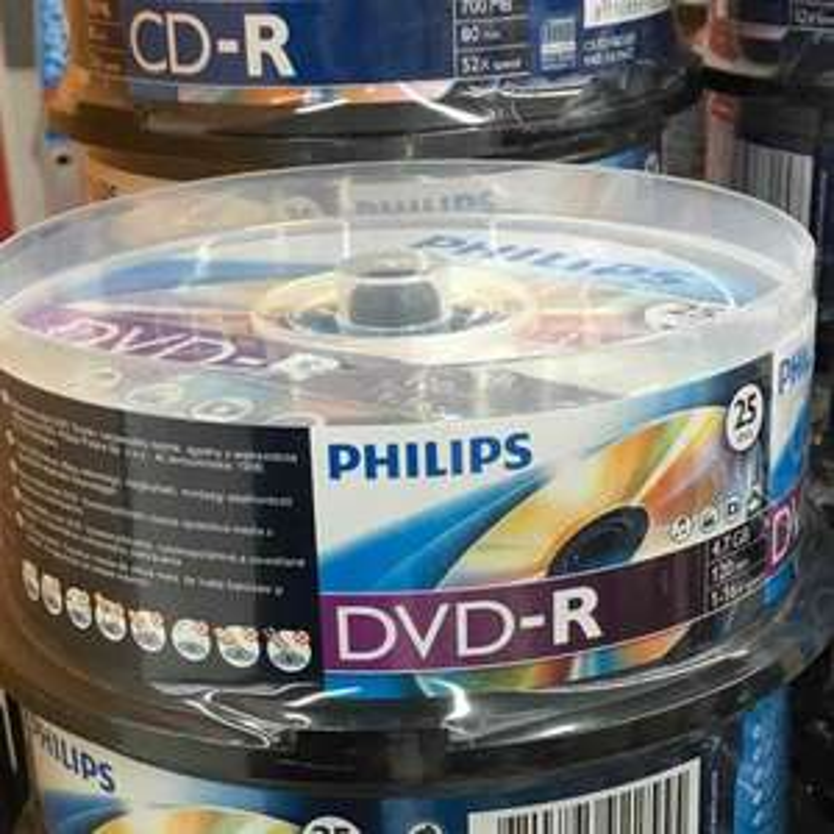 PHILIPS DVD-R ROHLINGE 25ER SPINDEL KAUFLAND LOKAL & ONLINE