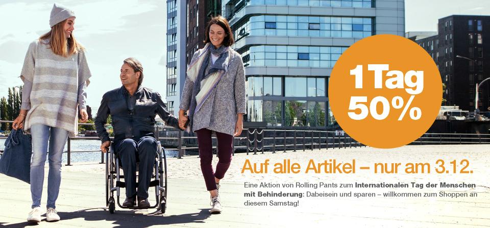 Rollstuhlhosen - 50% auf alles nur heute (rolling-pants)