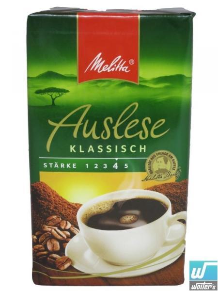 Melitta Kaffee , 500 Gramm Packung mit 38% Rabatt (NETTO)