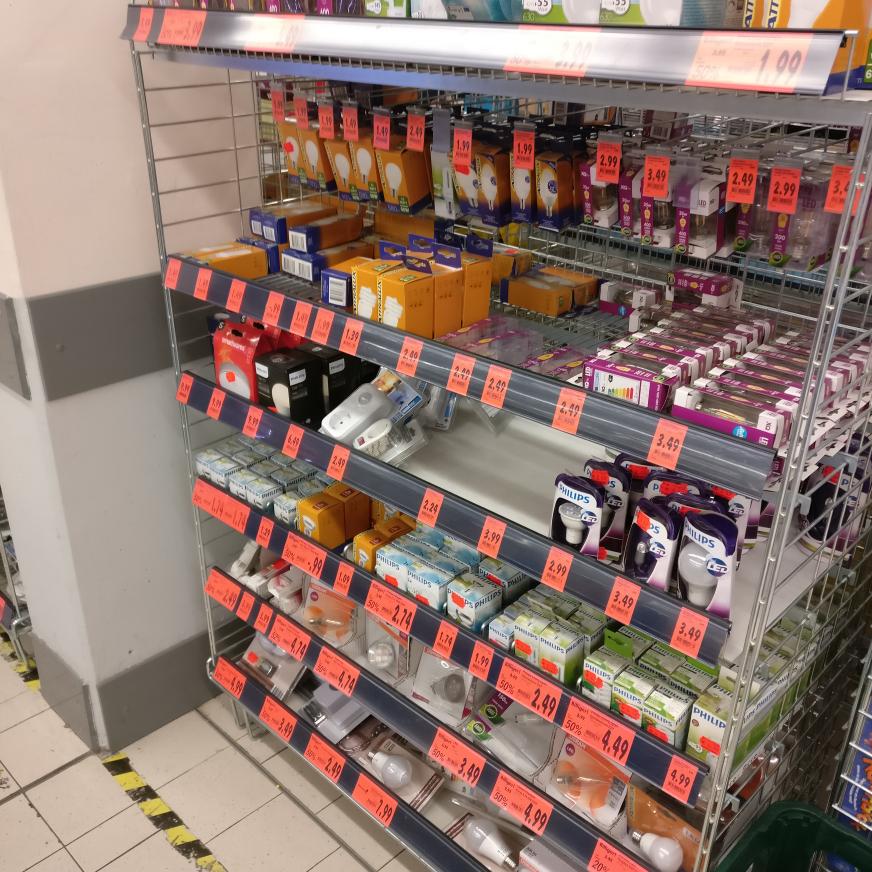 [LOKAL] Kaufland Berlin Bessemerstr. - viele LED Leuchtmittel stark reduziert z.B Philips Hue