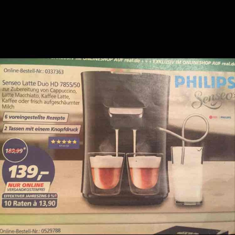Senseo Latte Duo HD 7855/50