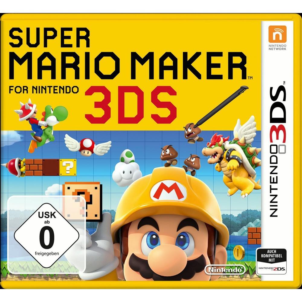 Super Mario Maker 3DS per Abholung 29,99€ [Müller Sonntagsknüller] - Release 02.12.2016 (VGP: ab 33€)