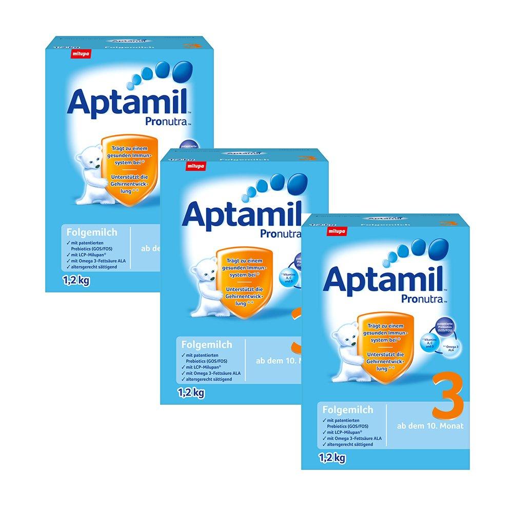3 x Aptamil 3 Milchnahrung (3 x 1,2kg) @vitafy.de