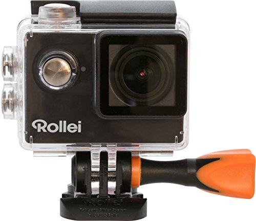 Rollei Actioncam 425 - 4k 2160p Actioncam + Unterwassergehäuse, Handgelenkfernbedienung für 83,99€