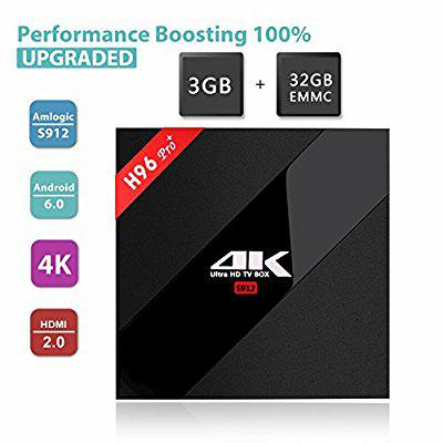 Amazon.de / H96 Pro 3G / 32G Amlogic S912 64bit Octa-Core Android TV BOX