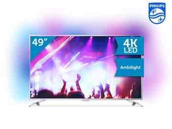 [iBood.com] Philips 49PUS6561 Ultra HD Ambilight Smart TV Fernseher LED 4K UHD