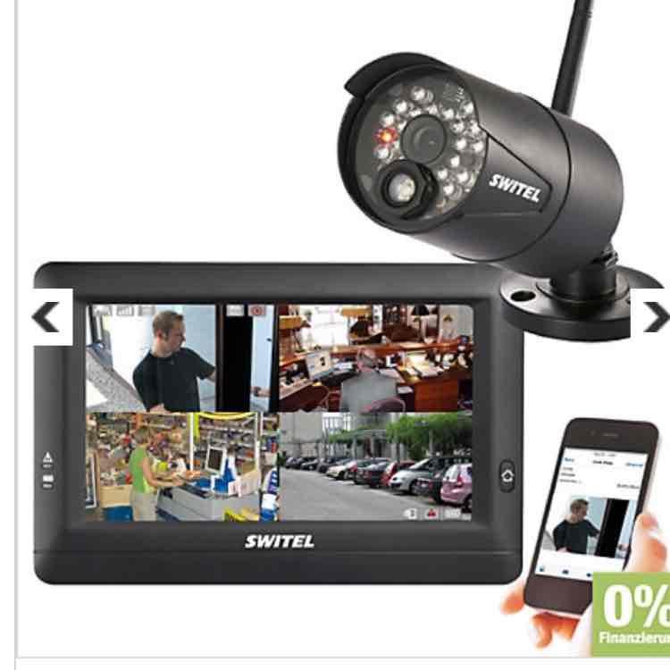 [Plus.de] Switel HSIP 5000 Drahtloses Digital-HD-Überwachungssystem mit einer Kamera