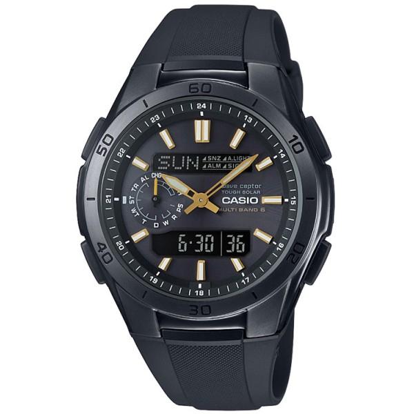 Casio Funk Solar Herren-Armbanduhr (WVA-M650B-1A2ER) für 125 € bei Amazon.de - Ersparnis 60 % im internen Amazonpreisvergleich