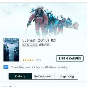 Everest iTunes HD Kauffilm
