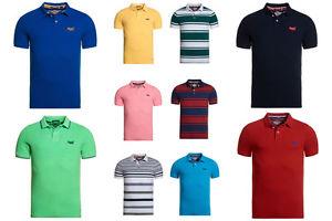 Superdry Herren Polo Shirts in über 40 versch. Farben / Mustern @ ebay Superdry Shop