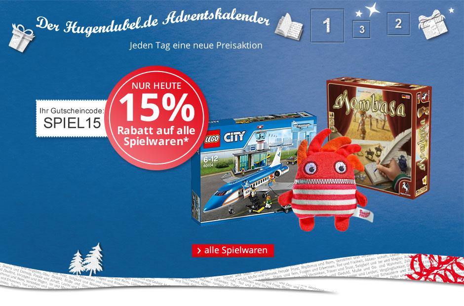 15% auf Spielwaren @hugendubel.de: z.B. ICECOOL für 19,11€ versandkostenfrei [UPDATE]