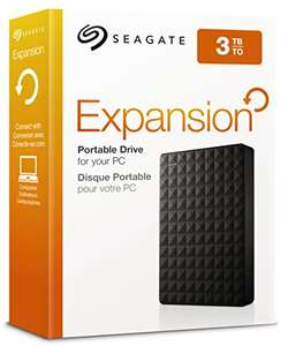 "Seagate Expansion Portable, 3TB, 2.5"" externe tragbare Festplatte; USB 3.0 (STEA3000400)"