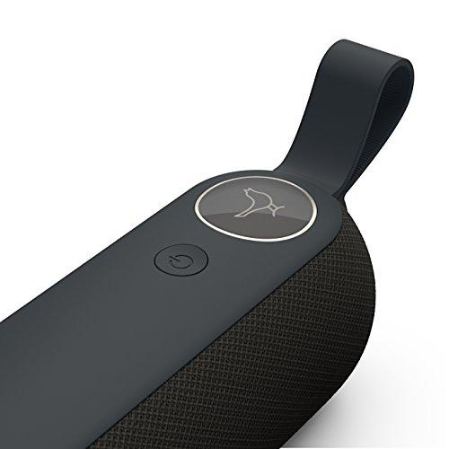 Libratone Too Bluetooth Lautsprecher (360° Sound, IPX4 Spritzwassergeschützt)  in Schwarz 79€
