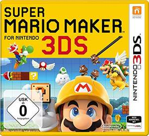 Amazon: Super Mario Maker Nintendo 3DS für 29,99 ( Amazon Prime Kunden 27,99 Euro )
