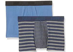 Puma Boxershorts Striped Color Block (2-er Pack) ab 6,91€ | Amazon (Prime)