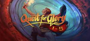Quest for Glory 1-5 ab