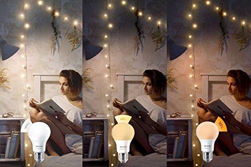 [Amazon Blitzangebot] 8W Philips 3-in-1 LED Lampe SceneSwitch, E27, Dimmen ohne Dimmer in 3 Stufen