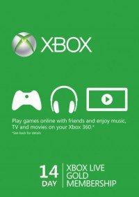 7/14 Day Trial Xbox Live Gold Mitgliedschaft