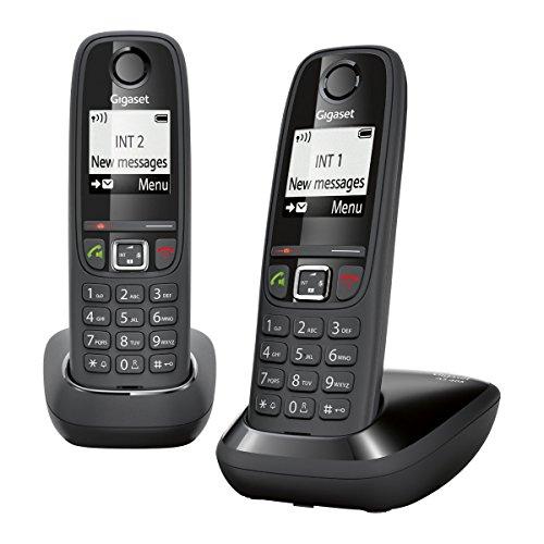 Gigaset AS405 DUO Schnurlostelefon (DECT) für 31,67€ inkl. Versand @Amazon.fr