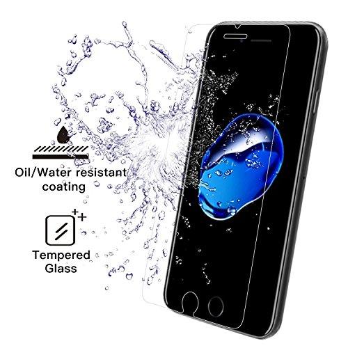iPhone 7 Panzerglas Folien (2 Stück) für 3,49€