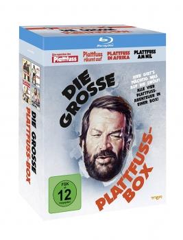[alphamovies]  Bud Spencer Die Grosse Plattfuß Box [ 4 Blurays ] für 12,94€