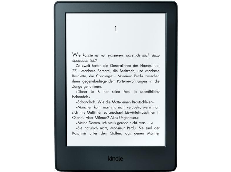 Kindle eReader (Der neue Kindle 6 Zoll Touchscreen) für 49,99 € bei Saturn Online