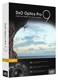 DxO Optics Pro 9 Bildbearbeitungstool kostenlos für Windows und Mac