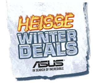 Asus cashback HEISSE WINTER DEALS