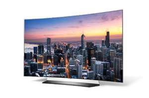 [Tecedo] LG OLED65C6D 164 cm (65 Zoll) Curved OLED Fernseher (Ultra HD, Dual Triple Tuner, Smart TV, 3D plus) + 2% shoop