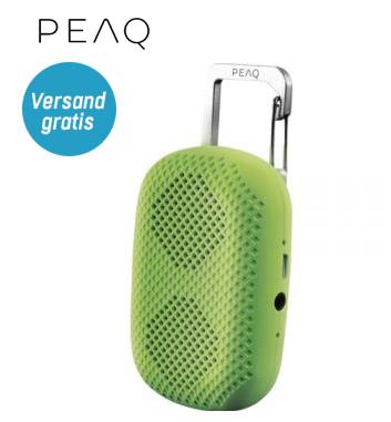 (Redcoon) PEAQ PPA10BT Bluetooth Lautsprecher für 6,99€