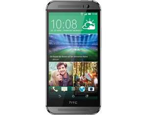 [allyouneed] (B-Ware) HTC One M8 in Grau (5'' FHD, SD 801, 2GB RAM, 16GB intern (erweiterbar), 5MP + 4MP Kamera, 2600mAh mit Quickcharge, Android M)